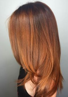 What is the pumpkin spice hair and why you soon in this beautiful trend . - New Hair Styles Haircut And Color, Auburn Hair, Ginger Hair, Fall Hair, Balayage Hair, Pretty Hairstyles, New Hair, Hair Inspiration, Hair Makeup