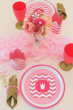 Love Themed Pink Princess Birthday Party // Hostess with the Mostess® Princess Theme Party, Disney Princess Party, Princess Birthday, Pink Princess, Birthday Parties, Girl Parties, Birthday Stuff, Birthday Fun, Birthday Cakes