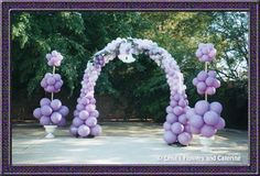 How To Make A Balloon Arch