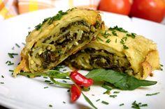 slaná roláda Spanakopita, Snacks, Ethnic Recipes, Fitness, Appetizers, Treats