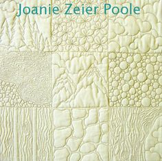 Joanie Zeier Poole – Upcoming Machine Quilting Classes