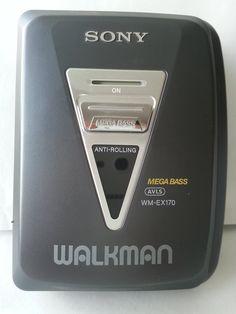 Sony Walkman Stereo Cassette Player WM-EX170