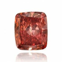 0.29 Carat, Fancy Red Diamond, Cushion Shape, SI2 Clarity, GIA