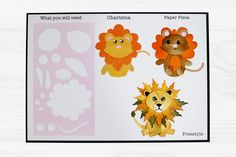 The adorable Tiny Tubs by Tattered Lace For more information visit www.tatteredlace.co.uk Winnie The Pooh, Pikachu, Paper Crafts, Tubs, Card Ideas, Cards, Inspiration, Lace, Animals