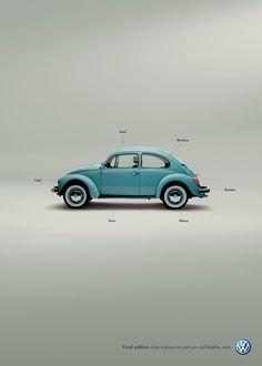 #VW #Bug #Beetle #Car #Poster