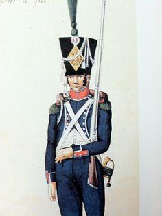 Otto watercolor 9e Leger 1806