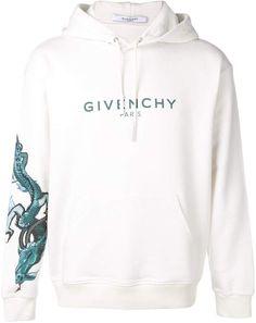 15d96d60e45d Givenchy Dragon Motif Hoodie - Farfetch