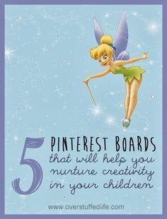 Overstuffed: Help Your Children Nurture Their Talents: Five Pinterest Boards to Follow