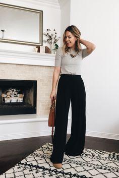 Wide Leg Trousers – Natalie Borton Blog