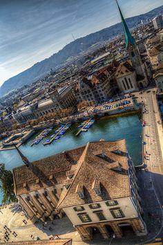 Zurich, Switzerland - Europe.