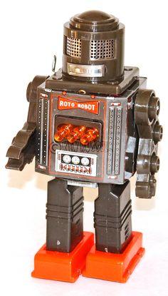 1960s Vintage Horikawa Roto Robot Made in Japan ロボット | eBay