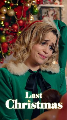 Get into the festive spirit with new romantic comedy - in cinemas now. Last Christmas Movie, Hallmark Christmas Movies, Christmas Christmas, 2020 Movies, New Movies, Movies And Tv Shows, Funny Movies List, Funniest Movies, Emilia Clarke Last Christmas