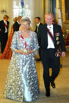 H.H. Princess Astrid of Norway and Johan Martin Ferner
