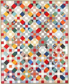 Another of my favorite quilt patterns from American Jane:  Jack and Jill
