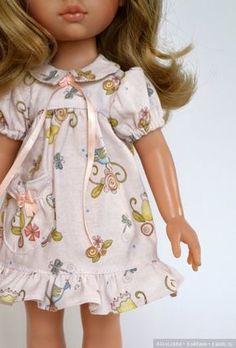 Много платьиц для кукол от Паола Рейна / Одежда и обувь для кукол своими руками / Бэйбики. Куклы фото. Одежда для кукол
