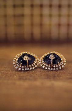 "Photo from The Triangle Services ""Kevin + Rosa"" album Wedding Earrings, Wedding Jewelry, Diamond Earrings, Lehenga Wedding, Lehenga Saree, Business Dresses, Mehendi, Real Weddings, Triangle"