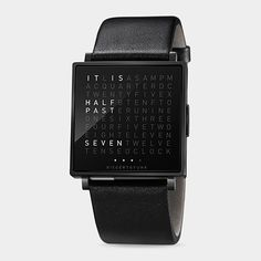 QLOCKTWO Watch-Marco Biegert and Andreas Funk, 2013