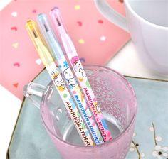 Manjukun and Friends 3 Push-Up Pencil Set