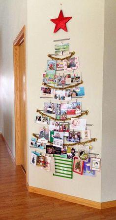 card holderneed to make christmas pinterest card displays christmas cards and holidays - Photo Holder Christmas Cards