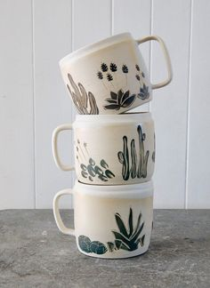 Every morning should begin with a cactus mug.