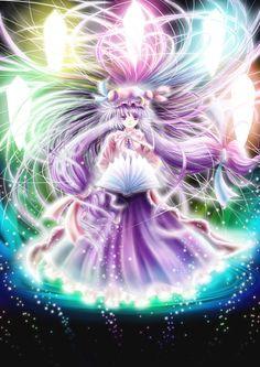 Patchouli Knowledge (Touhou 6 - Embodiment of Scarlet Devil)