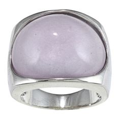 @Overstock - City by City City Style Silvertone Lavender Milky Enamel Fashion Ring - This lavendar fashion ring features an amethyst stone and is made of highly polished silvertone brass.  http://www.overstock.com/Jewelry-Watches/City-by-City-City-Style-Silvertone-Lavender-Milky-Enamel-Fashion-Ring/6724426/product.html?CID=214117 $8.69
