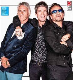 Q Awards, Paul Weller, Noel Gallagher, Mod Fashion, Great Shots, Concert Posters, Oasis, Winter Jackets, Rock Stars