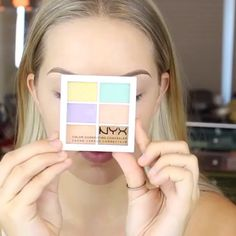 """""""Mi piace"""": 66 mila, commenti: 4,706 - NYX Professional Makeup (@nyxcosmetics) su Instagram: """"Starting off the day with some extreme color correcting craziness!😻 Love this fun mini tutorial by…"""""""