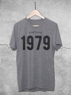 1979 tshirt - 1979 Birthday Gift - 1979 Shirt for men and women - 39th  Birthday e11fab41fe