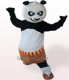 Kungfu Panda Adult Mascot Funny Costume