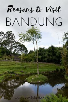 Five reasons to visit beautiful Bandung in West Java, Indonesia. Discover the fascinating Sundanese culture and some seriously impressive natural landscapes.