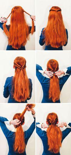10 coiffures pour sortir le soir entre copines - Les Éclaireuses