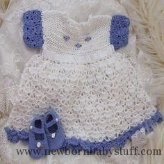 Crochet Baby Dress Free+Crochet+Baby+Dress+Patterns | ... baby dress free croch...