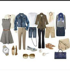 Spring travel clothes
