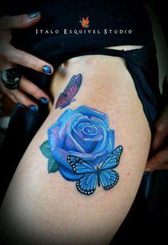 Rose butterflies