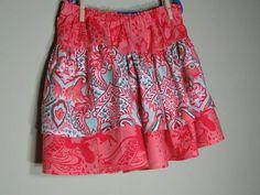 Girls Twirl Skirt Size 6 Ruffles Coral Pink by SouthernSeamsKids, $20.00