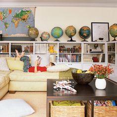 Play Room - Colorful, Cozy Spaces - Coastal Living