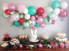 Balloons × flowers