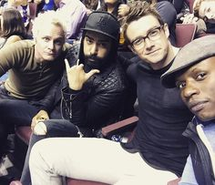 David, Rahul, Robert and Malcolm