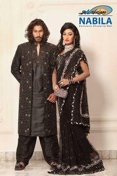 Nabila #Bangladesh #sari #bridal #saree #partysaree #menswear