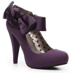 Purple Wedding Shoes | ... for which I should wear purple bridal shoes | Weddings Engagement