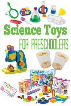 Science Toys for Preschoolers (3, 4, 5 year olds)