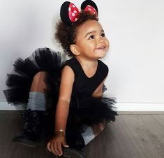 Zoey ❤ Gorgeous baby girl in a black tutu dress and Minnie Mouse ears Baby Baby Baby Oh, Baby Fever, Baby Kids, Disney Baby Clothes, Baby Disney, Minnie Mouse, Mouse Ears, Little Babies, Cute Babies