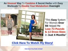 How Women Over 50 Can Lose in 30 Days With The Morning Fat Melter program! An Unusual Way To Combine 4 Secret Herbs with Easy Workouts To Double Your Metabolism Overnight Beginner Workout Program, Workout Videos, Workout Programs, Weight Loss For Women, Fast Weight Loss, How To Lose Weight Fast, Lose 50 Pounds, 20 Pounds, Flat Belly Challenge
