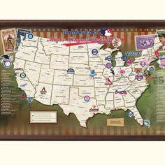 Visit all the Major League Baseball Stadiums Twins Yankees