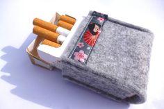 Etuis & Täschchen - Zigarettenschachtel Hülle Etui - ein Designerstück von Hilea bei DaWanda