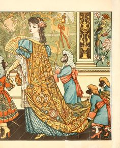 Title:美女と野獣 Beauty and the Beast Artist:ウォルター・クレイン Walter Crane Date:1875