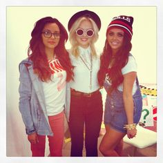 Jade, Perrie, Jesy, loving their outfits  @Perrie Edwards   @Jade Thirlwall  @Jesy Nelson  ya'll r so pretty