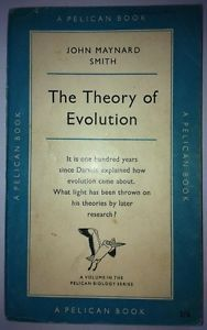 Vintage Pelican paperback book #A433 - The Theory of Evolution, 1st edition