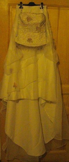 Robe de mariée et  bustier